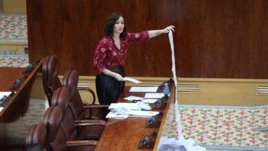 Ayuso despliega el listado de residencias atendidas en Madrid