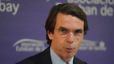 Aznar cuestiona el ingreso mínimo vital permanente con un 110% de deuda
