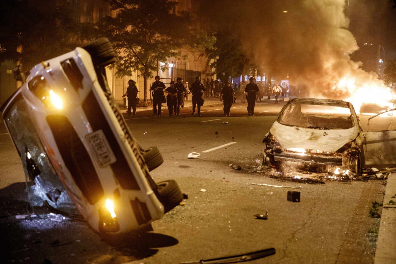 Disturbios Washington