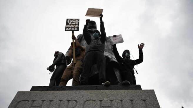 Churchill-racismo-protestas