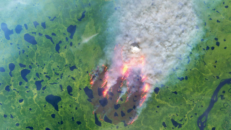 El Ártico, azotado por los incendios zombis y un ola de calor histórica