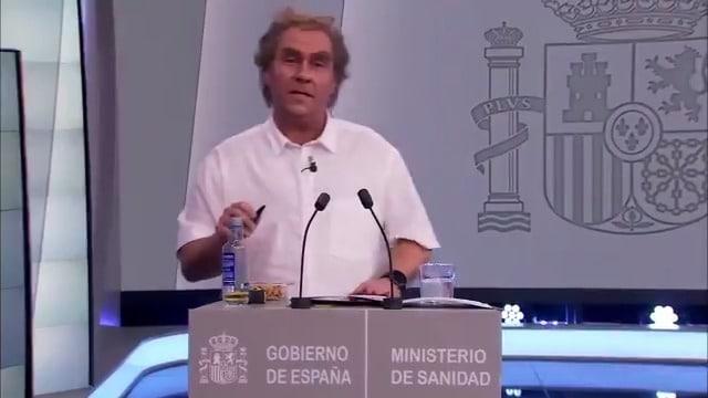 La polémica imitación de Latre a Fernando Simón en 'El Hormiguero' tras las críticas a Pablo Motos