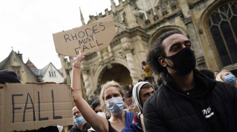 Oxford estatua racista