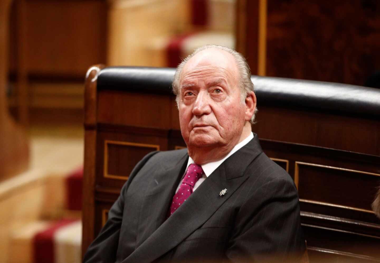 Juan Carlos I de Borbón, rey emérito tras abdicar en 2014 en favor de su hijo.