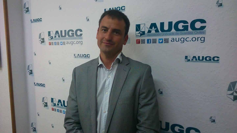 El presidente de la Asociación Unificada de Guardias Civiles (AUGC), Juan Fernández.
