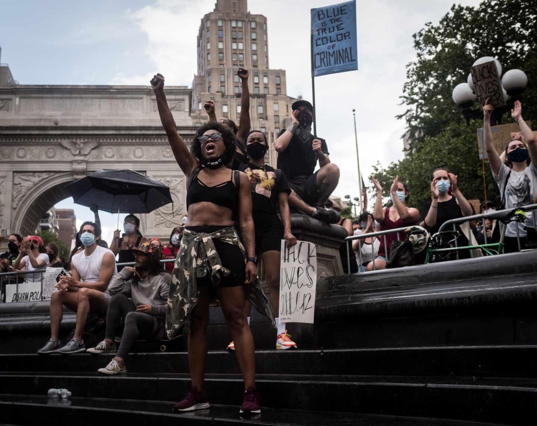 Manifestación Nueva York