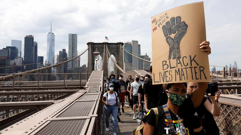 Manifestantes-Nueva York