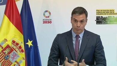 Sánchez presenta el plan para el automóvil con el apoyo de empresas y sindicatos