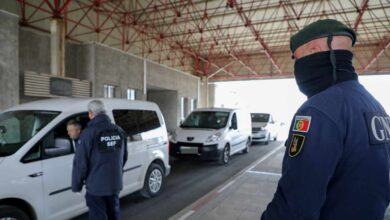 Portugal cierra sus fronteras con España durante dos semanas