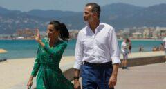Los Reyes visitan Palma tras la pandemia del Covid