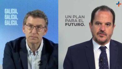 """Feijóo: """"Hemos tenido que defender nosotros a González, es defender la democracia y la Transición"""""""