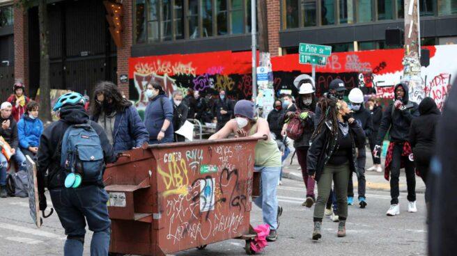 Protesta Seattle