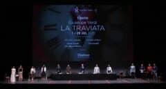 """'La traviata' vuelve al Real a brindar por la vida: """"Hay que tener coraje"""""""
