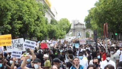 """Ayuso cree que la manifestación contra el racismo en Madrid estuvo """"completamente descontrolada"""""""