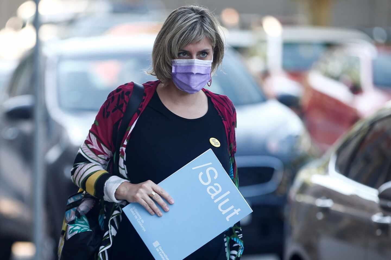 La consejera de Salud, Alba Vergès.