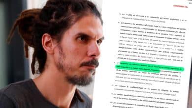 """El documento con el que Podemos fue avisado de la """"relación"""" de su abogada con el fiscal del 'caso Villarejo'"""