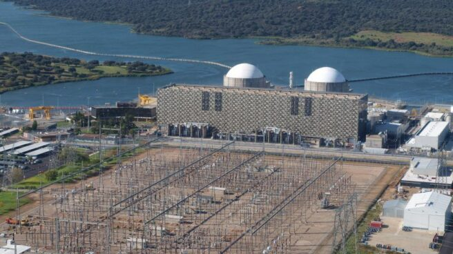 La central nuclear de Almaraz, en Cáceres.