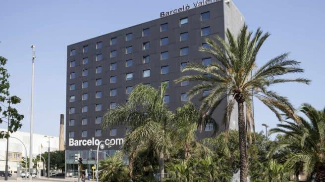 El hotel Barceló Valencias, que reabre esta semana tras meses de parón por la pandemia de Covid-19.