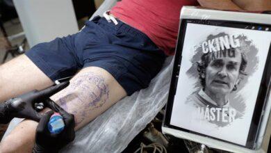 Tatuajes de Fernando Simón: un estudio de Valencia ya los hace por 800 euros