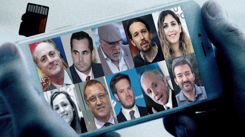 Los protagonistas del 'caso Dina', que investiga el juez García-Castellón.