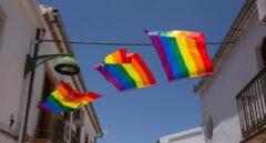 Cuelgan 400 banderas gais en un pueblo malagueño al quitarla el ayuntamiento