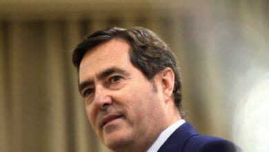 """Garamendi (CEOE) rechaza reformas """"estructurales"""" y pide que los ERTE se prolonguen hasta diciembre"""