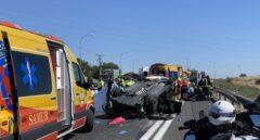 Muere una mujer de 93 años y otra de 68 años resulta herida grave en un accidente de tráfico en la A-4
