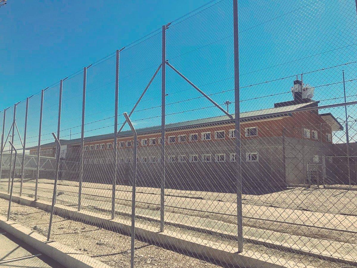 Exterior de la prisión madrileña de Estremera, que encabezó en 2019 las denuncias de reclusos.