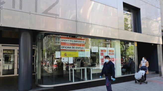 Oficina de empleo en la Comunidad de Madrid: las oficinas de empleo siguen cerradas.