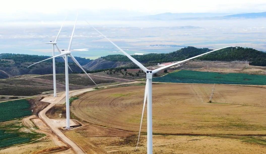 El complejo eólico CAVAR de Iberdrola, en Navarra.