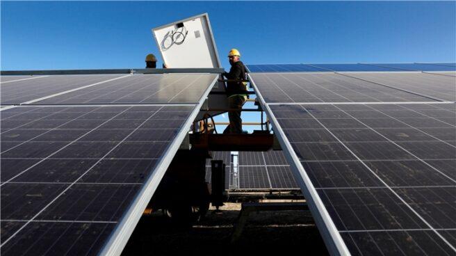 Planta fotovoltaica de Iberdrola.