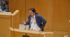 """La """"desaparición"""" política y mediática de Pablo Iglesias en pleno """"caso Dina"""""""