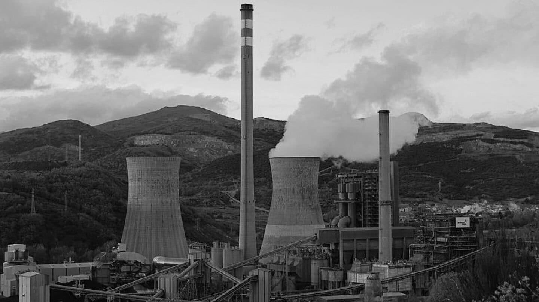Central de carbón de La Robla (León) de Naturgy.