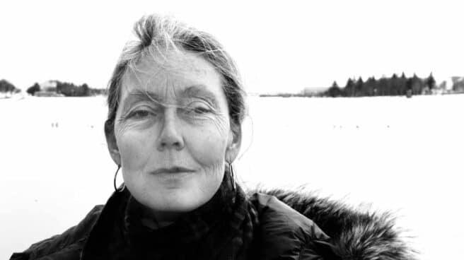 La poetisa canadiense Anne Carson.