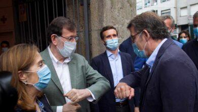"""Rajoy llama al entendimiento junto a Feijóo: """"Todos tendremos que dar la batalla frente a la crisis"""""""