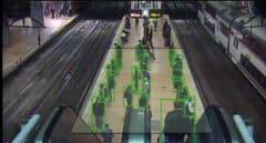 Cientos de cámaras e inteligencia artificial para luchar contra el Covid en las estaciones de tren