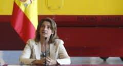 La vicepresidenta y ministra para la Transición Ecológica, Teresa Ribera.