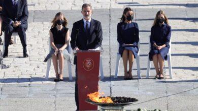 """El mensaje de Felipe VI: """"España ha dado una lección de inmenso valor"""""""
