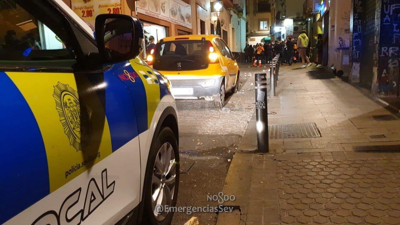 Un coche de la Policía Local de Sevilla.