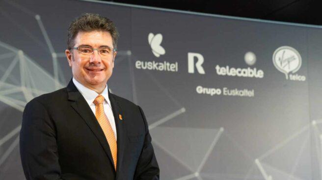 José Miguel García, consejero delegado de Euskaltel, en la Junta General de Accionistas de 2020.
