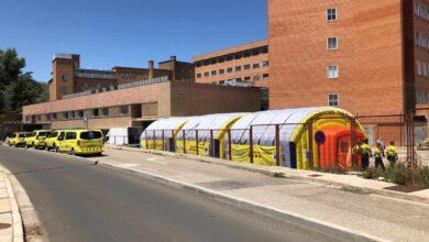 Instalan un hospital de campaña en Lleida para dar respuesta a nuevos brotes