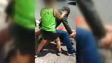 Un testigo grabó y colgó en internet la agresión a una mujer en Eibar