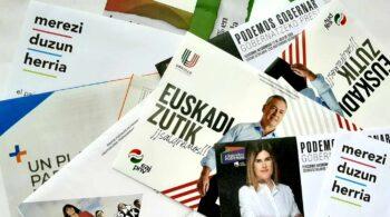 Euskadi y Navarra, un laberinto de 400 partidos