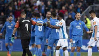 """Un jugador del Fuenlabrada, hospitalizado en A Coruña """"por precaución"""""""