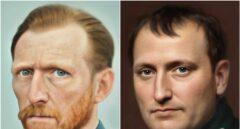 Así funciona la IA que utiliza un artista para crear retratos 'reales' de Van Gogh y Jesucristo