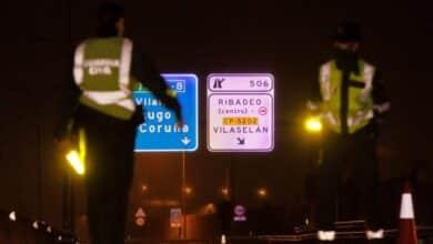 Control de vehículos entre Galicia y Asturias para evitar propagar el brote