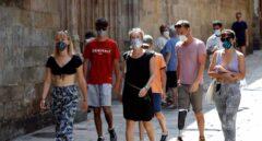 La mascarilla, obligatoria en Murcia desde este lunes aunque haya distancia física