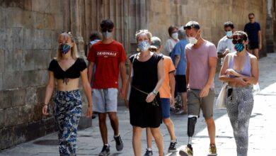 Cataluña registra 1.547 contagios en 24 horas, 197 más que el día anterior
