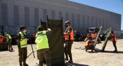 El Ejército desplaza a 30 militares a Albalate de Cinca (Huesca) para luchar contra el rebrote
