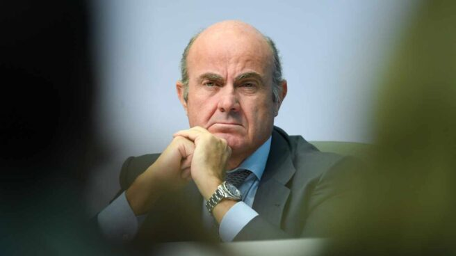 El vicepresidente del BCE, Luis de Guindos.